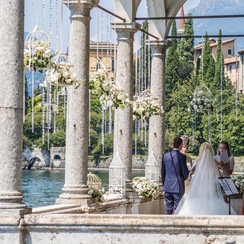 Ceremony on Lago Maggiore