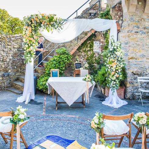 Ceremony in Liguria