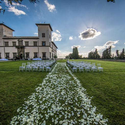 Ceremony in Tuscany