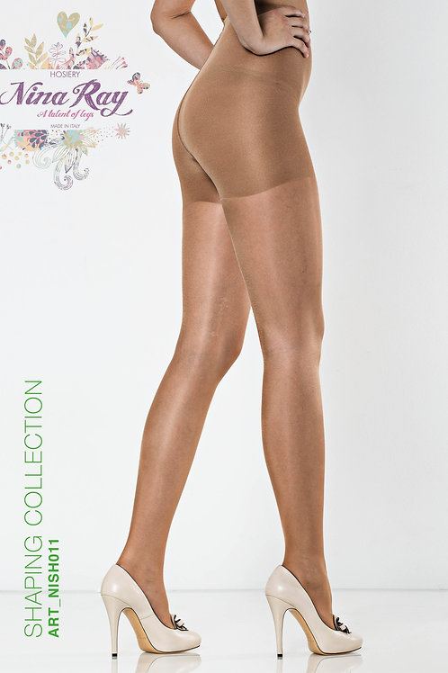 NISH011 • Long Coulotte Shaper Nylon Pantyhose