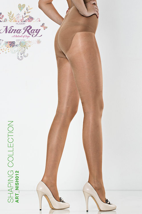 NISH012 •Short Coulotte Shaper Nylon Pantyhose