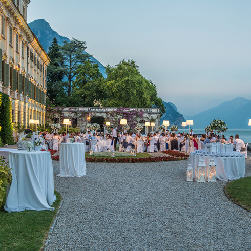 Galà dinner on Garda Lake