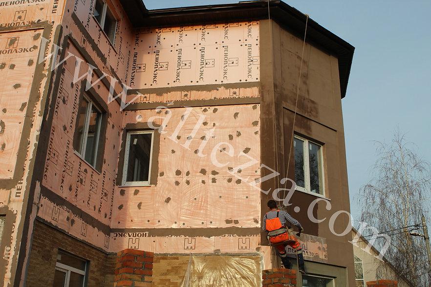 Утепление частных домов Ростов