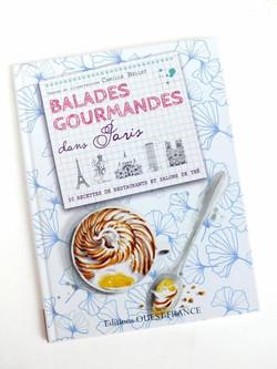 livre Balades gourmandes dans paris