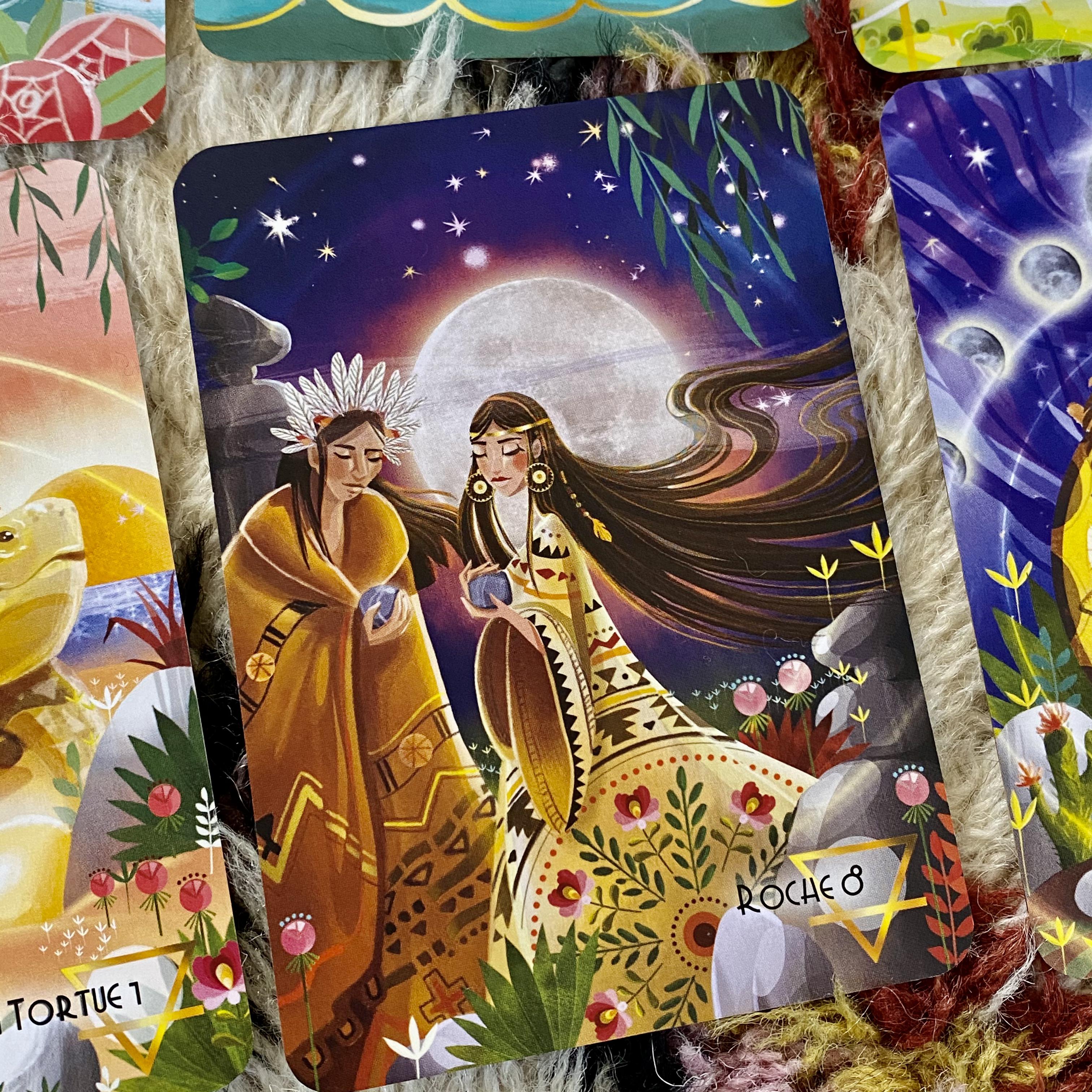 Carte du jeu oracle la quête du cinquième royaume