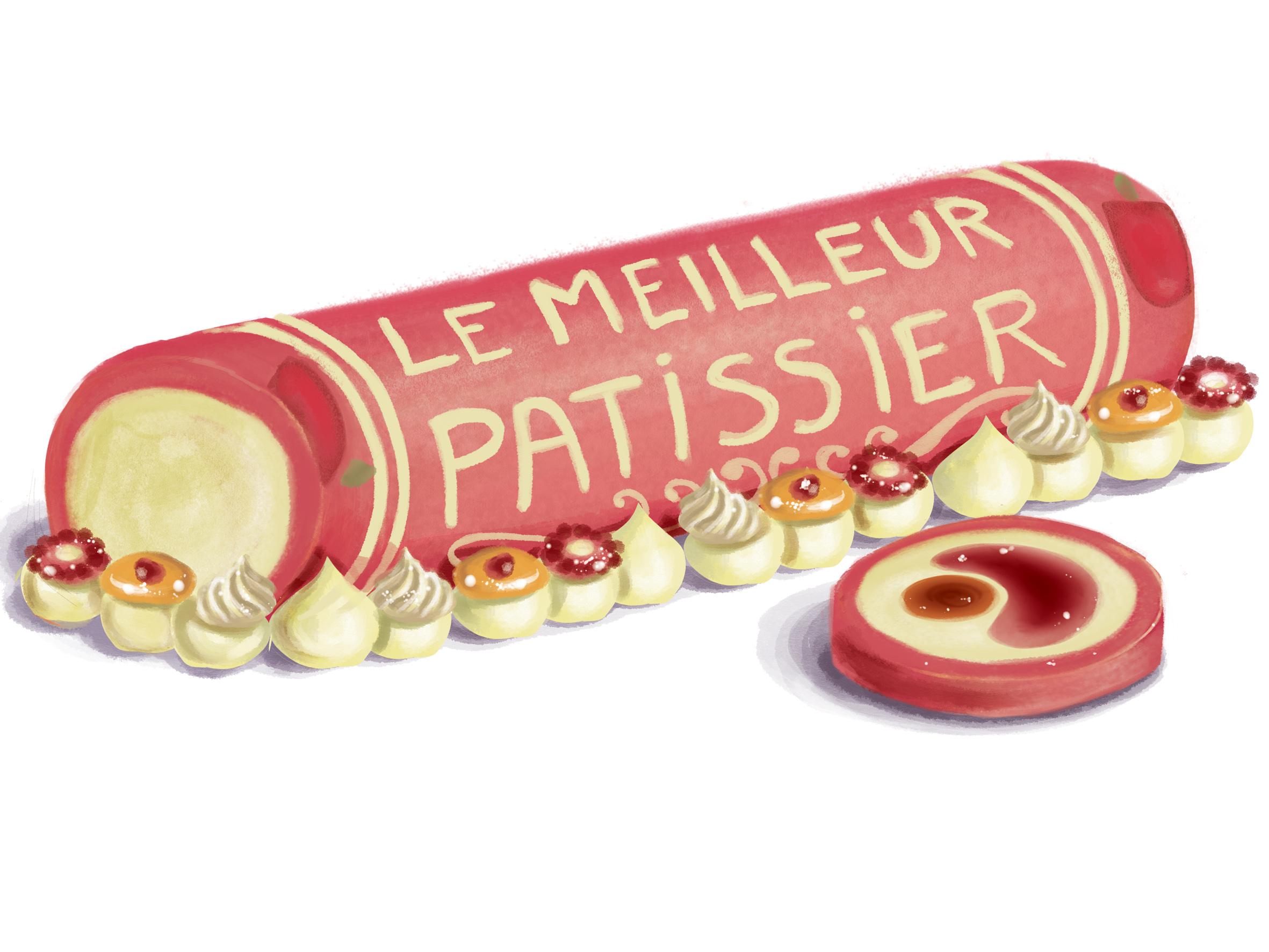 La bûche du Meilleur Pâtissier