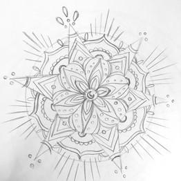 Mandala, étude