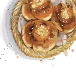 Petits pain livre Balades gourmandes dan