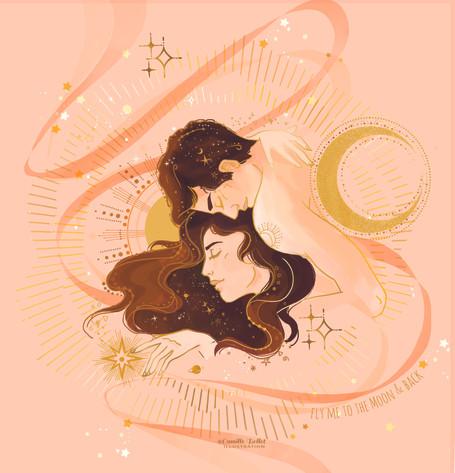 l'Illustration sur le Féminin sacré