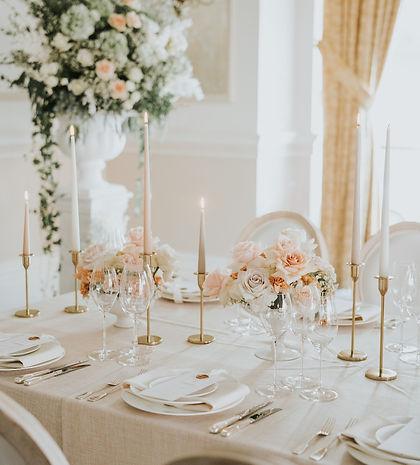 Luxury blush pink wedding at The Landmark London