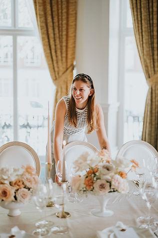 Emma Aldridge from Emma Jane Weddings at The Landmark London