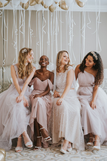 Blush Pink Wedding At The Landmark