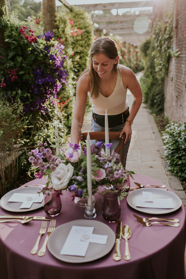 Elegant Mauve and Sage Wedding at Marden Park Mansion Surrey