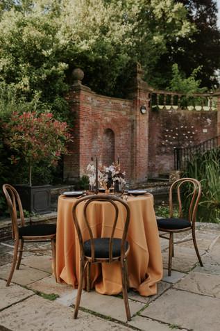 Modern Mustard Yellow and Black Wedding at Marden Park Mansion Surrey