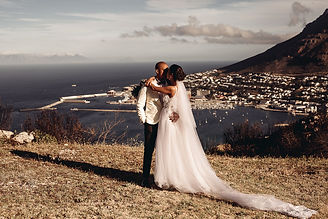 Wedding couple in Cape Town