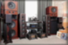 Hi End акустика колонки усилитель моноблоки стойки аудиокомпоненты