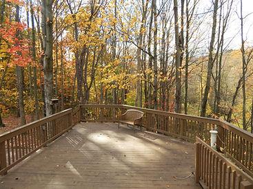 Wildlife Observation Deck in Autumn.