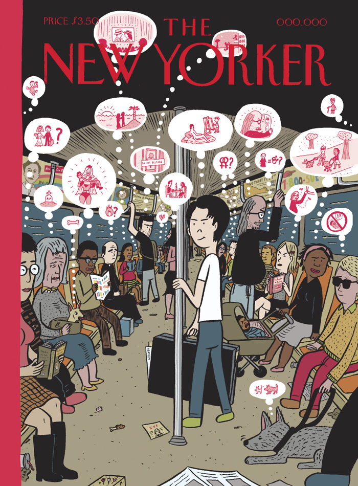 New Yorker Cover: February 2007