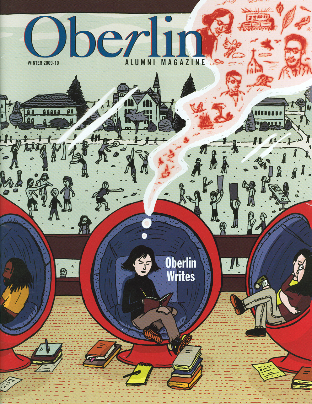 Oberlin Alumni Cover