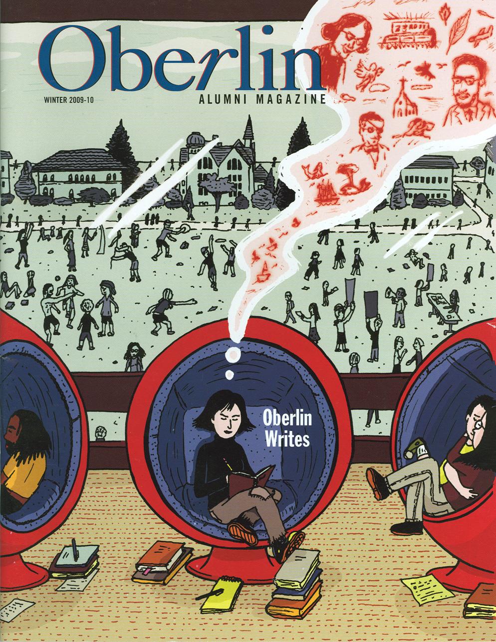 Oberlin Alumni Cover