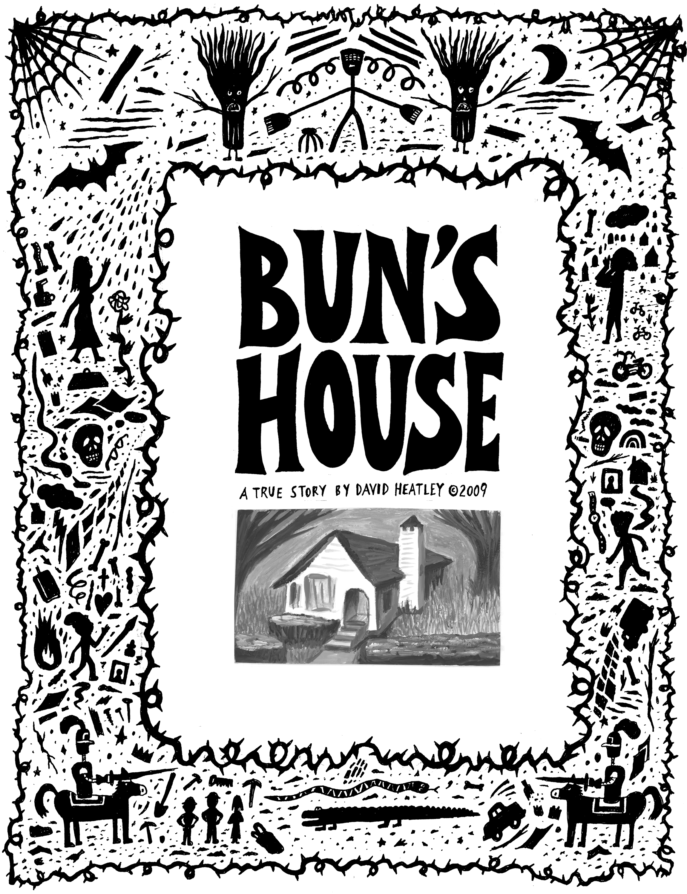 Bun's House, story for Strapazin