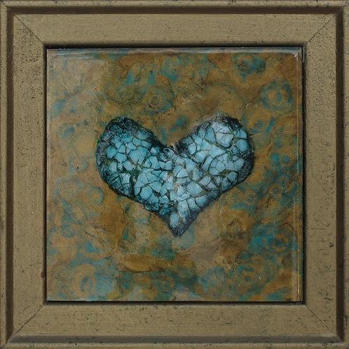 Heart 10 - 9.5X9.5