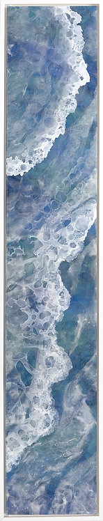 Coastal Aerial #33 -9x47 framed