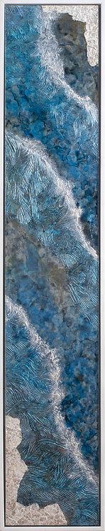 Coastal Aerial #28 -9x48 framed
