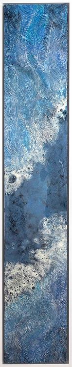 Coastal Aerial #29 -9x47 framed