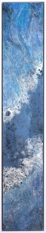 Coastal Aerial #29 -9x48 framed