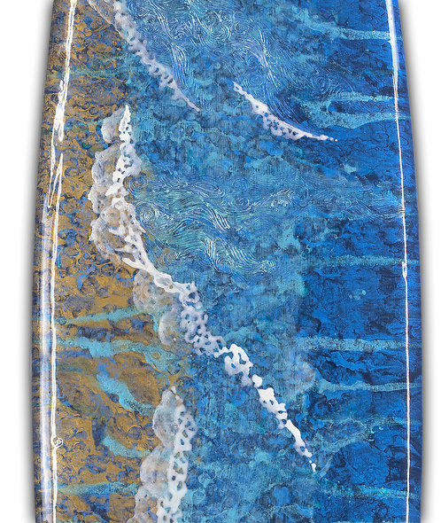 """Recycled Surfboard """"Perfect Peace"""""""