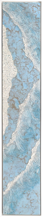 Coastal Aerial #35 -9x48 framed