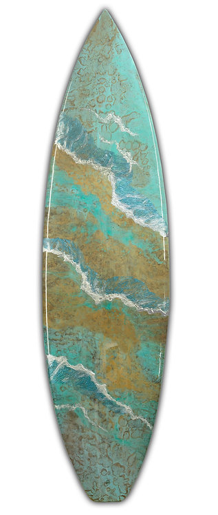 "Recycled Surfboard ""Concurrent"""
