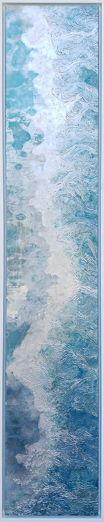 Coastal Aerial #6 -9x47 framed