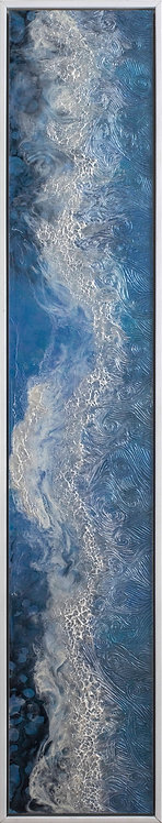 Coastal Aerial #30A -9x48 framed