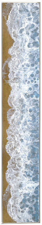 Coastal Aerial #30 -9x47 framed