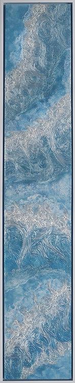 Coastal Aerial #26 -9x48 framed