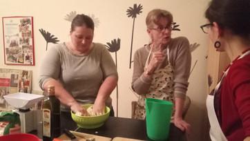 Con le mani in pasta!
