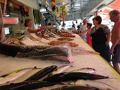 Italy fish store