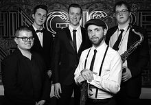 Jazz & Swing Wedding Party Band For Hire