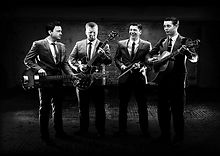Vintage 50s Rock'n'Roll Wedding Party Band For Hire