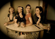 1940s Vintage Wedding Party Band For Hire
