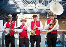 Dixie Land Jazz Party Band For Hire
