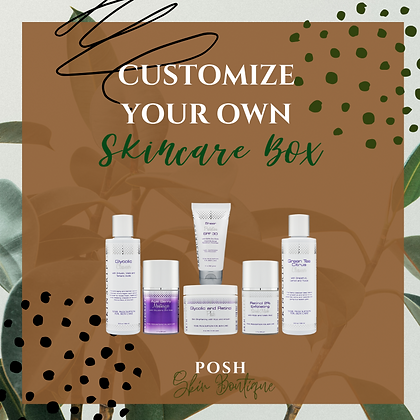 Customize Your Own Skincare Box