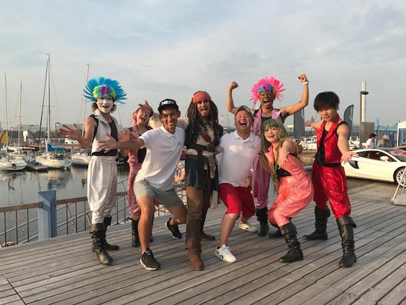 2017/7/16 親子で楽しむ体験フェスタin夢の島マリーナ2017