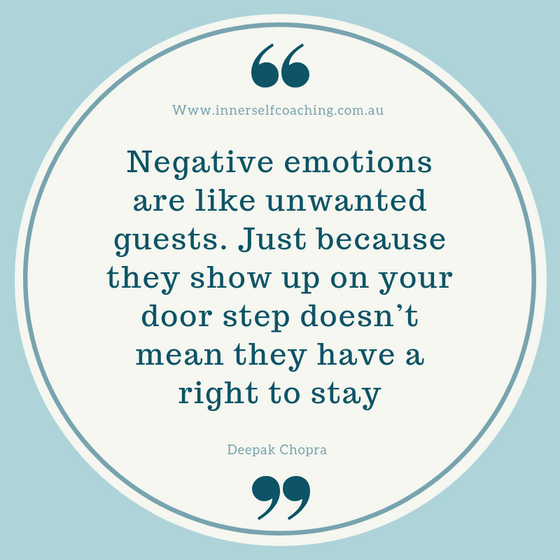 Negative emotions and feelings