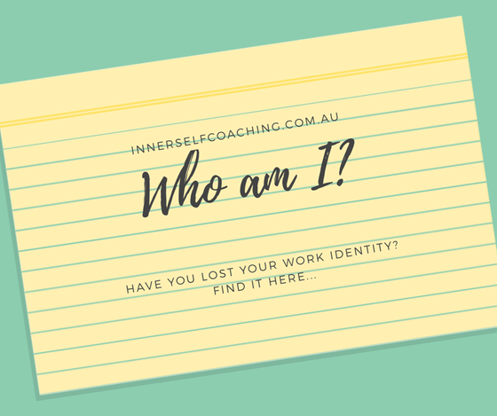 Losing your work identity...