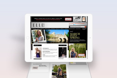 Elle Website Takeover