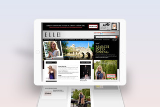 Elle Website Takeover