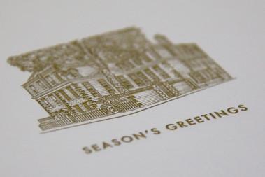 DUNHILL CHRISTMAS CARD